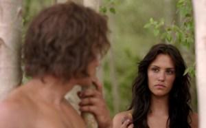 亚当和夏娃违抗上帝吃禁果